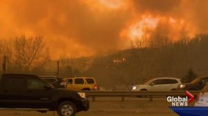 Fort McMurray wildfire: some residents voice concerns over evacuation process
